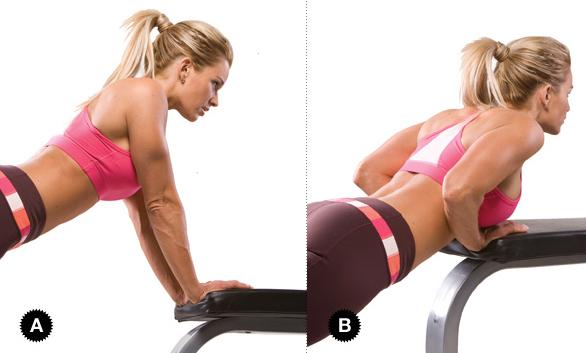 отжимания +от пола для грудных мышц