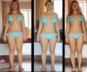 упражнение планка фото до и после