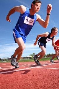 бег 100 метровка