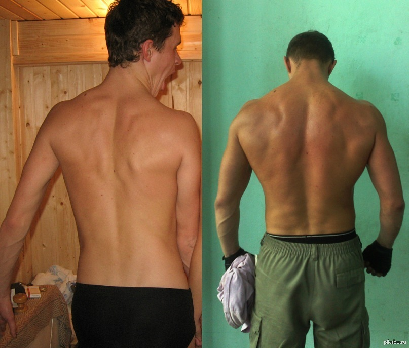 Фото до и после рибоксина