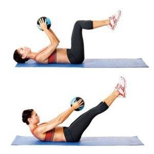 упражнения для нижнего пресса для женщин