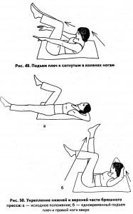 упражнение для пресса
