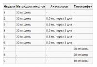схема приема курса метана соло